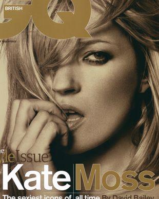 Kate Moss na okładce GQ (FOTO)