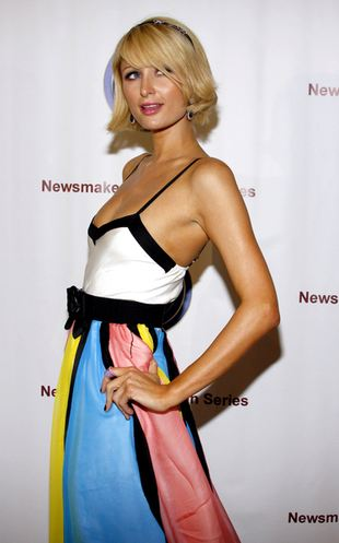 Tęczowa Paris Hilton (FOTO)