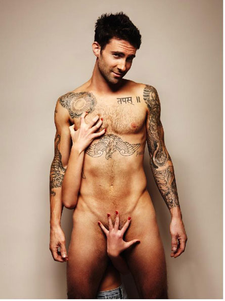 Zanim Adam Levine zosta� najseksowniejszym m�czyzn�… (FOTO)