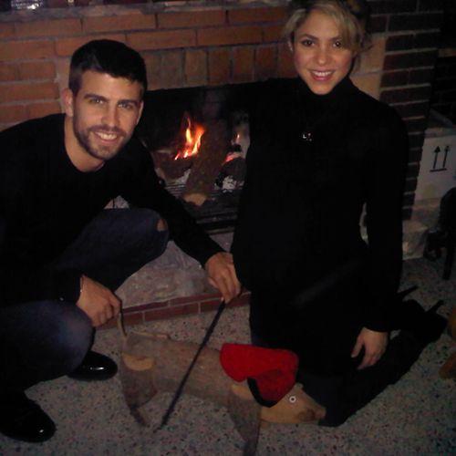 Ostatnie święta we dwoje Shakiry i Gerarda Pique (FOTO)
