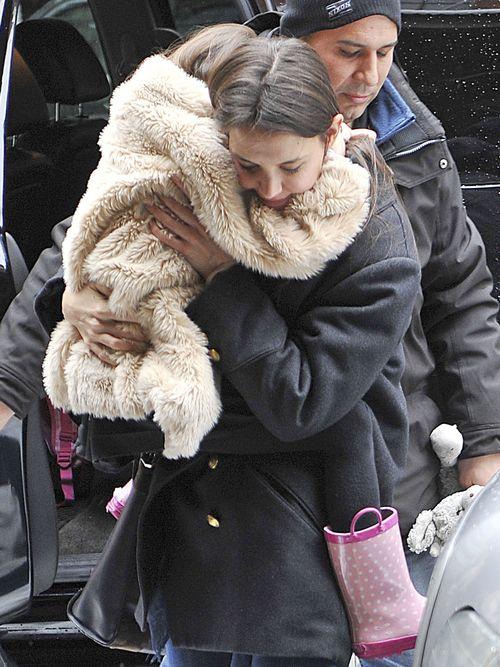 Katie Holmes jest silną kobietą (FOTO)