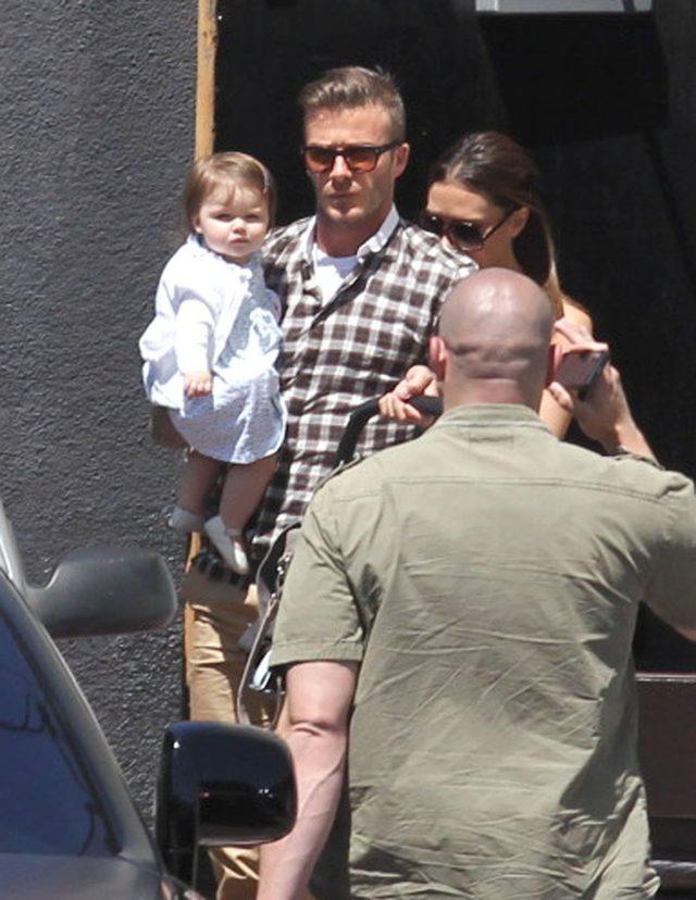 David Beckham z córeczką Harper Seven