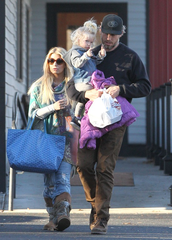 Jessica Simpson z dziećmi: córeczką Maxwell i synkiem Acem