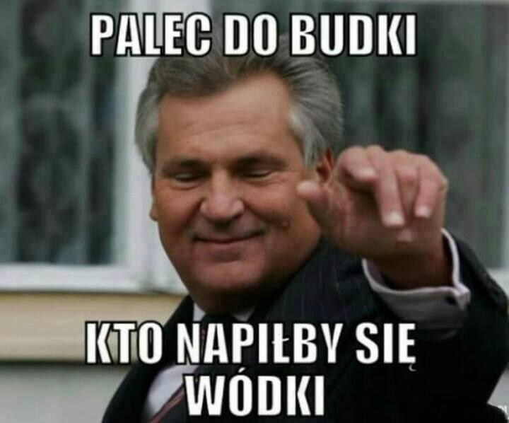 Memy z Aleksandrem Kwaśniewskim