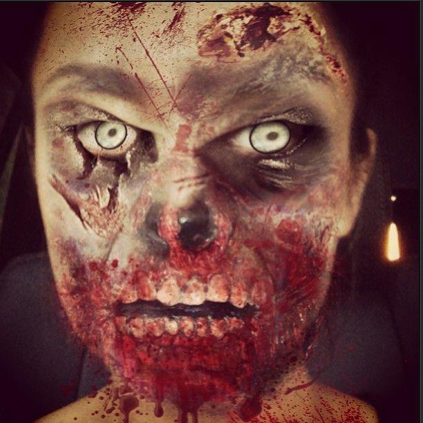 Kto pokazał swój przerażający wizerunek? (FOTO)