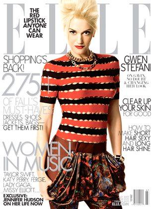 Gwen Stefani w lipcowym Elle