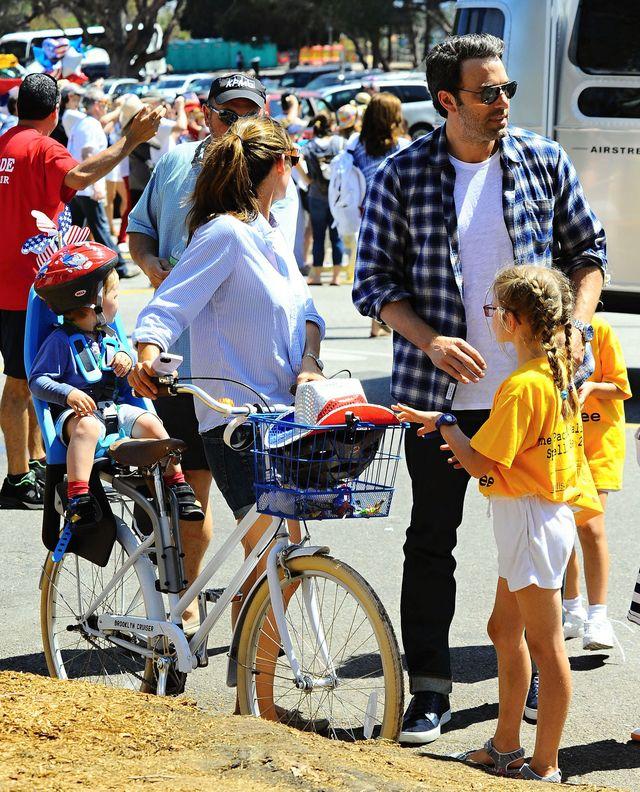 Ben Affleck i jego rodzinka