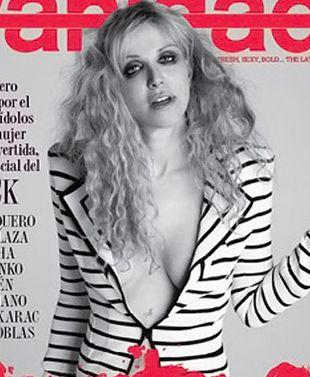 Courtney Love szturmuje okładki (FOTO)