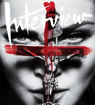 Madonna na okładce Interview (FOTO)