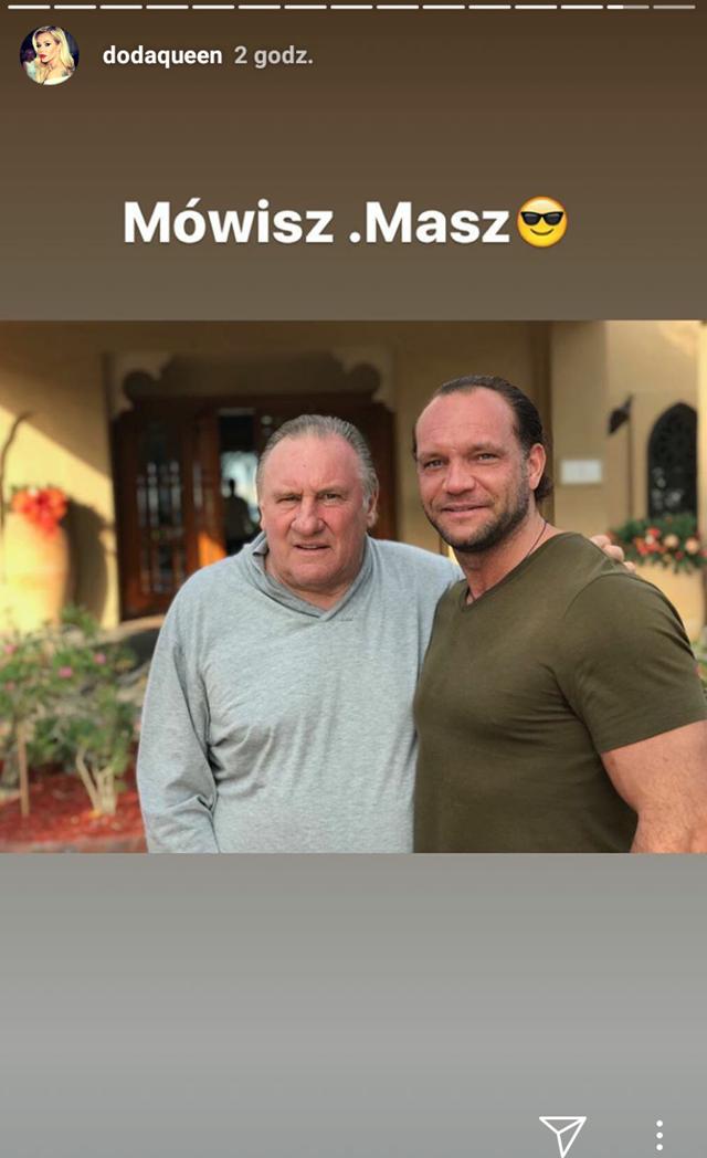 SZOK! Doda i Emil na wspólnych wakacjach z Gérardem Depardieu?!