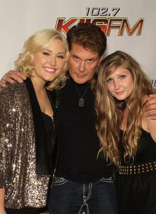 David Hasselhoff z córkami (FOTO)