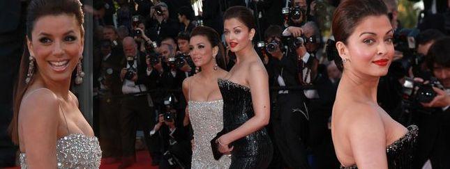 Eva Longoria i Aishwarya Rai w Cannes (FOTO)