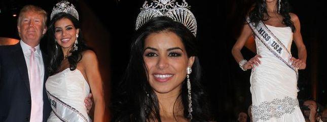 Rima Fakih w koronie, czyli nowa Miss USA 2010 (FOTO)