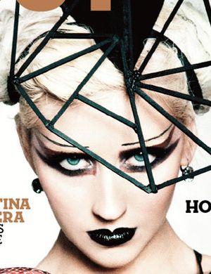 Christina Aguilera w Out magazine (FOTO)
