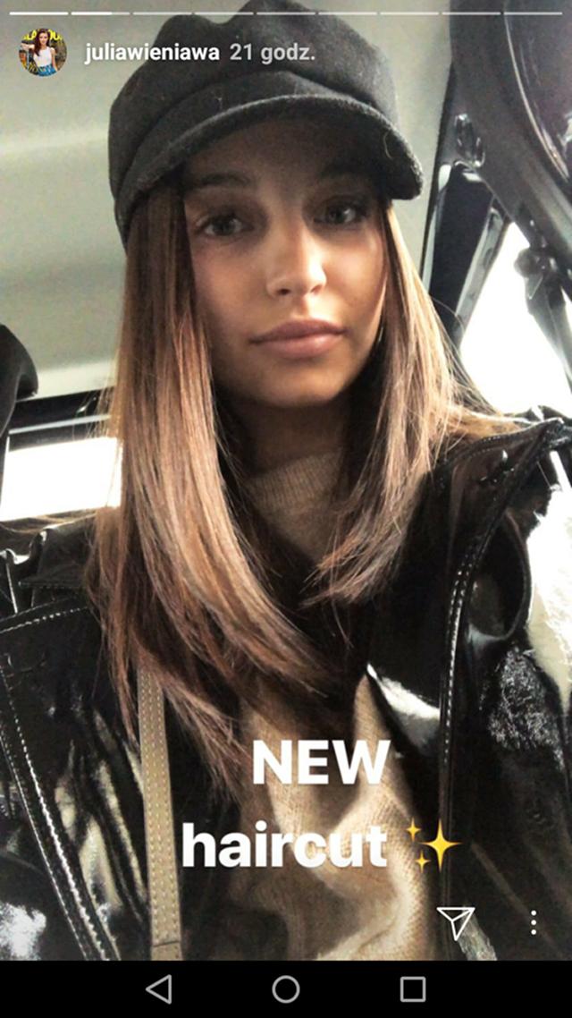 Zmiana fryzury Julii Wieniawy! Wygląda o wiele lepiej