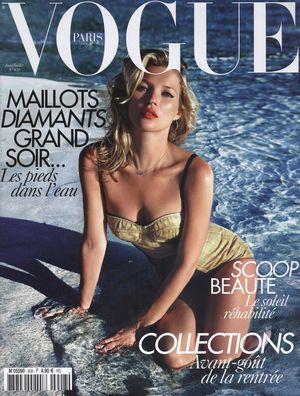 Kate Moss po raz n-ty na okładce Vogue'a (FOTO)