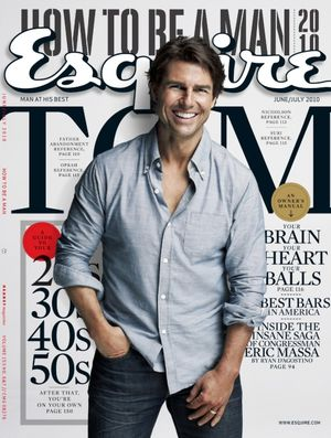 Tom Cruise na okładce Esquire (FOTO)