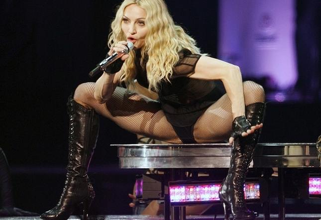 Nieruchoma i plastikowa Madonna (FOTO)