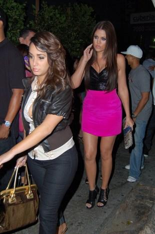 Khloe Kardashian idzie do pracy (FOTO)