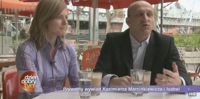 Kryzys w związku Marcinkiewicza i Isabel?