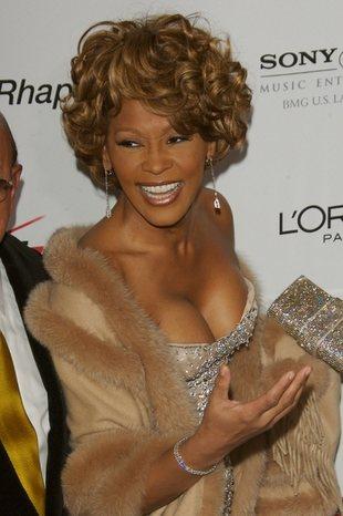 Whitney Houston pokazuje córkę