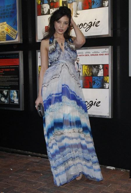 Daisy Lowe w sukience maxi