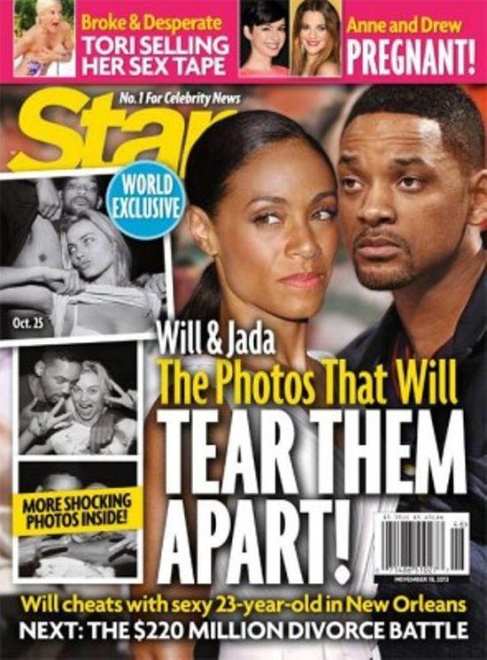 Will Smith zdradzał żonę?