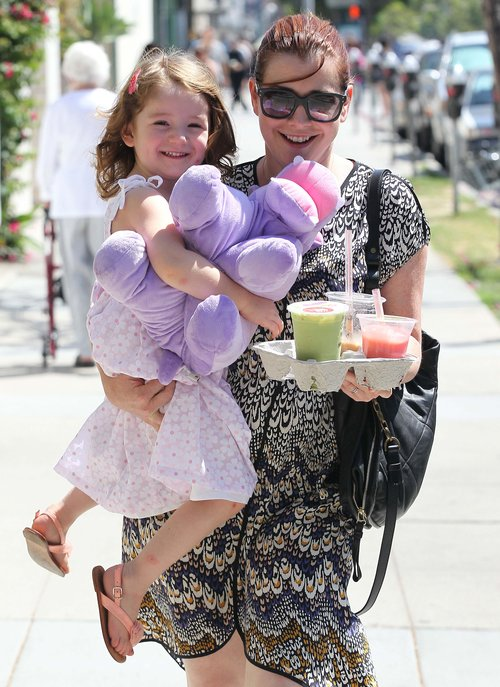 Alyson Hannigan z córeczką