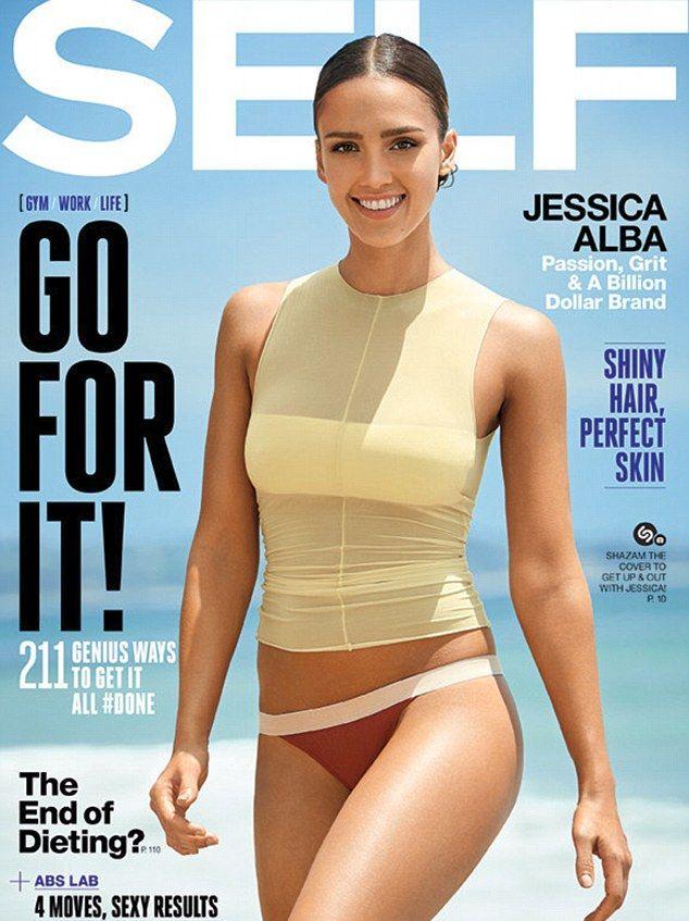 Jessica Alba: Byłam pulchna i chorowita (FOTO)