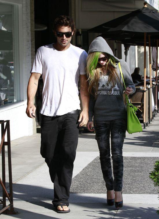 Avril Lavingne i Brody Jenner poróżniły 23 centymetry. On mierzy 183, a ona 155 cm,