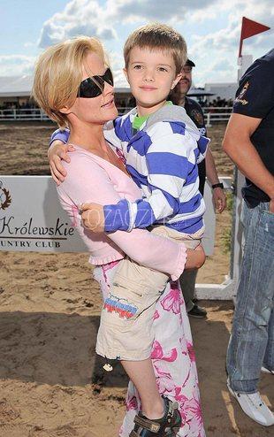 Monika Richardson z Tomkiem i Zosią (FOTO)