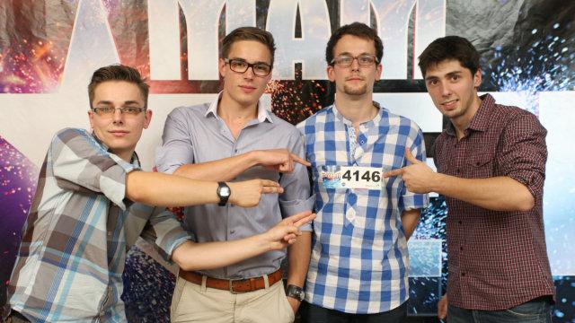 Trio ETC Rzeszów i  Recycling Band w finale Mam talent (FOTO
