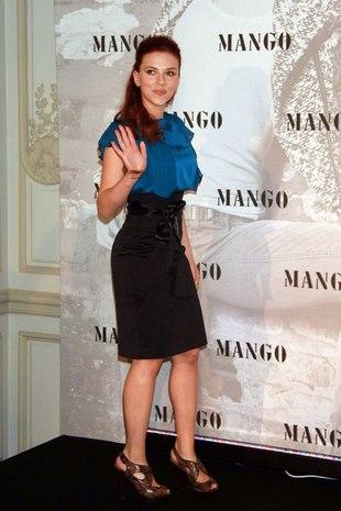Scarlett Johansson nową twarzą Mango (FOTO)