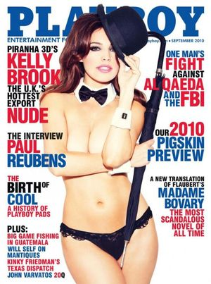 Kelly Brook w Playboyu (FOTO)