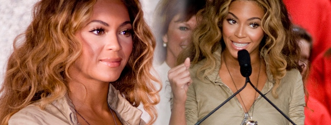 Beyonce pomaga nakarmić Amerykę (FOTO)