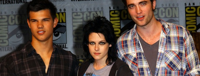 Pattinson, Stewart i Lautner promują New Moon