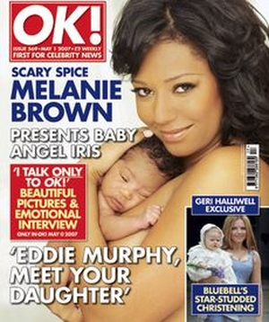 Dziecko Melanie Brown ma irokeza