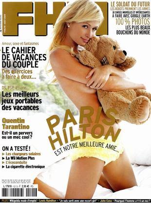 Paris Hilton półnaga z misiem (FOTO)