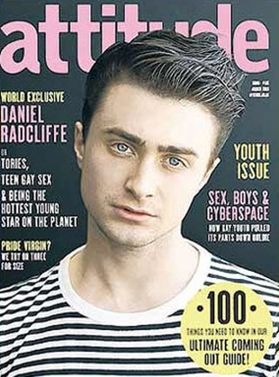 Radcliffe w wywiadzie dla gejowskiego magazynu