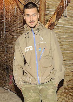 Mateusz Damięcki zapuścił wąsy (FOTO)