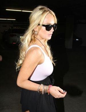 Lindsay Lohan na wolności (FOTO)