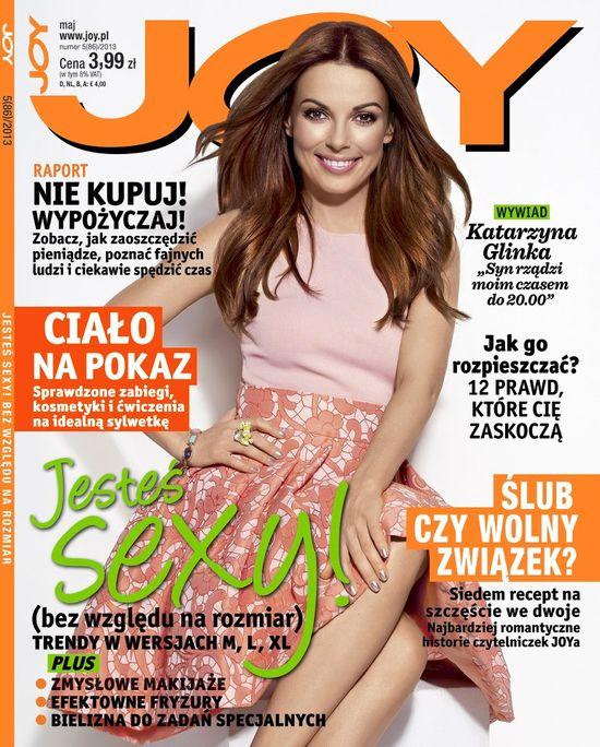 Piękna Kasia Glinka na okładce majowego numeru Joy (FOTO)