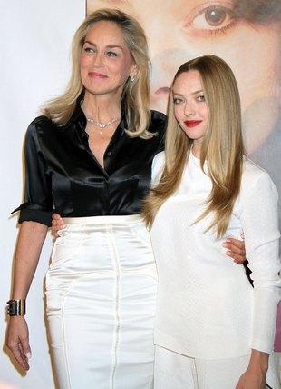 Amanda Seyfried i Sharon Stone na premierze Lovelace (FOTO)