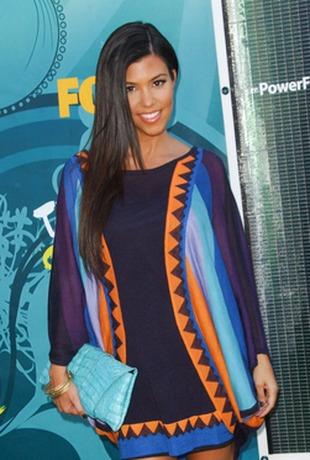 Kourtney Kardashian jak barwny motyl (FOTO)