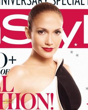 Jennifer Lopez w In Style (FOTO)