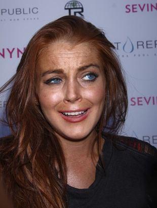Lindsay Lohan i jej spotkanie z kaktusem [VIDEO]