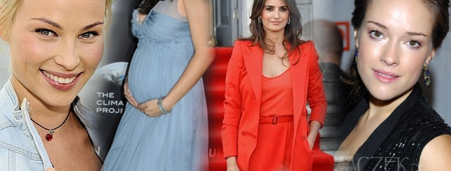 Moda na brzuszki, czyli gwiazdy w ciąży (FOTO)