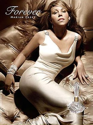 Mariah Carey promuje nowy zapach - Forever (FOTO)