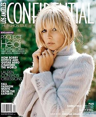 Heidi Klum na okładce LA Confidential (FOTO)
