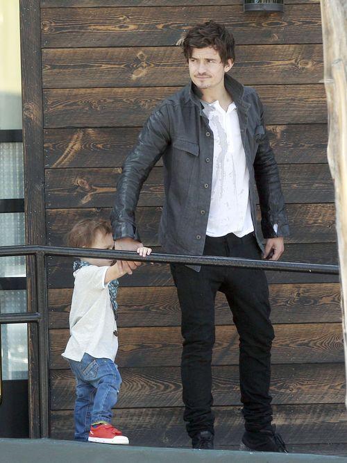 Orlando Bloom uwielbia spędzać czas z synem (FOTO)
